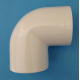 121340 Elbow 90 degree 40mm pvc
