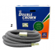 AUSSIE GOLD Double crown pool hose 38mm X 15 metres vacuum hose 2YEAR WARRANTY with hose swivel cuff