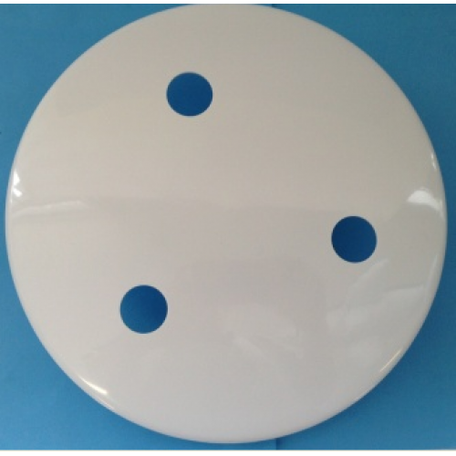 Universal Fmd280 Mdw1 Main Drain Cover White 240mm Weighted