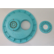 Kreepy Krauly KK69 vacuum plate with anti vortex Washer to suit Nally Waterco  skimmers